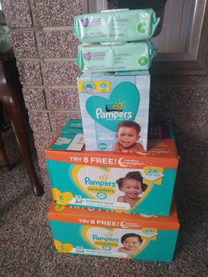 💙 Pampers & parents choice ; wipes & diapers 💙 for Sale in Yucaipa, CA