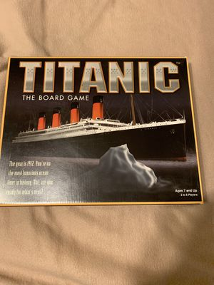 Titanic board game (1997) for Sale in Cary, NC