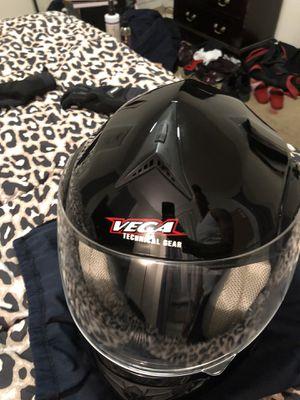 Motorcycle helmet Vega technical gear for Sale in Boston, MA