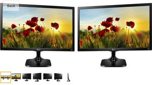 lg 24m47h-p computer lcd monitor (3 available) for Sale in Pflugerville, TX