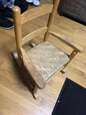 Kids rocking chair for Sale in Des Plaines, IL