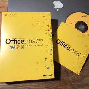 Microsoft office for Mac 2011 for Sale in King City, OR