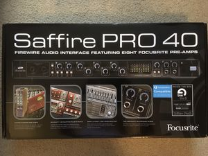 Saffire PRO 50 Audio Interface for Sale in Vancouver, WA