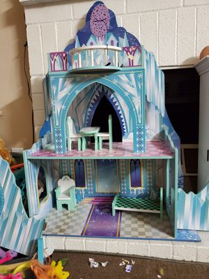 Elsa doll house for Sale in Coppell, TX