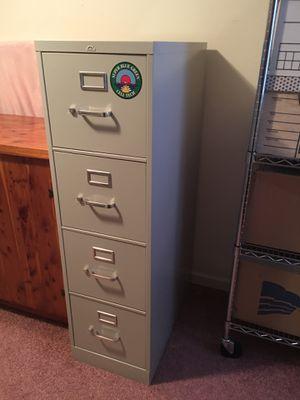 Pinnacle Deep 4-Drawer Letter Size Vertical File Cabinet for Sale in Woodbridge, VA