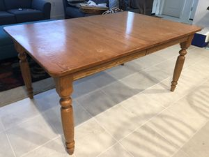 Beautiful real wood table for Sale in Livermore, CA