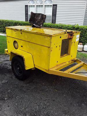 HESCO 10KW portable generator PROPANE. for Sale in Seffner, FL