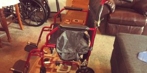 2 Wheel chairs 1 brand new Select Elite Motorized Cherry Red Wheel Chair Brand New also I have the same one 3 years old for Sale in Columbus, OH