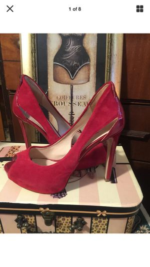"Designer Guess stiletto heels Sexy Red 5"" pristine sz8 for Sale in Northfield, OH"