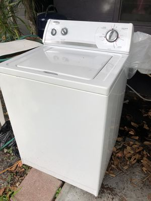 Whirlpool washer, good condition $250 obo for Sale in Sunrise, FL