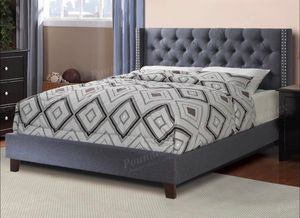 New queen size bed frame and mattress for Sale in Lynwood, CA