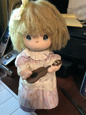 1989 Precious Moment Musical daughter Mandy with Guitar by Samuel J Butcher for Sale in Glendale, AZ