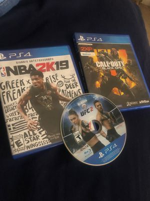 Ps4 games 25 each or all for 65 for Sale in West Palm Beach, FL
