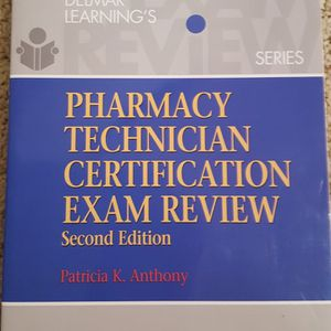 Pharmacy Technician Certification Exam Review 2nd edition by Patricia K. Anthony New for Sale in Lynnwood, WA