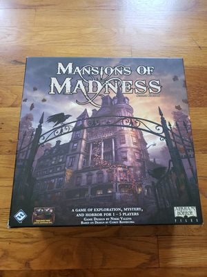 Mansions of Madness 2nd Edition Board Game for Sale in Lakewood, CA