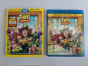 Toy Story 3 - Blu-ray + DVD Only for Sale in West Covina, CA