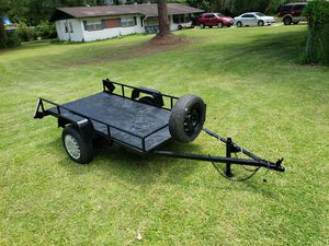 """Great Utility Trailer, TRADE or Sale!!14"""" New Tires, Spare Tire, All Lights, Excellent Condition!! for Sale in Jacksonville, FL"""