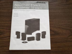 Bose Acoustmass 10 Series IV for Sale in West Chester, PA