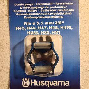 "⚙ Husqvarna Combi Gauge | New SEALED file roller guide for 3/8"" pitch chains 