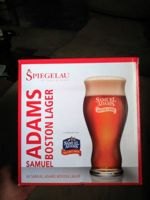 Samuel Adams Beer Glasses for Sale in Wichita, KS