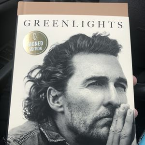 Greenlights Matthew McConaughey Signed for Sale in Rockville, MD