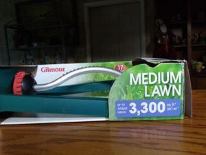 Oscillating sprinkler Gilmour brand new x2 for Sale in San Antonio, TX