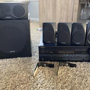 Polk Audio Home Theater System for Sale in Huntington Beach, CA
