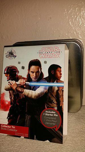 Star Wars Disney Store Collector Pin Starter Set for Sale in Phoenix, AZ