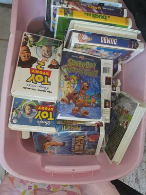 ALOT OF VHS CLASSICS from all the hit movies all for $150$ for Sale in Houston, TX