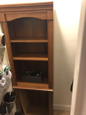 Shelving Unit. Sturdy. 6ft tall. 14in deep. 24in wife. Has a blemish. See photos. for Sale in Annandale, VA