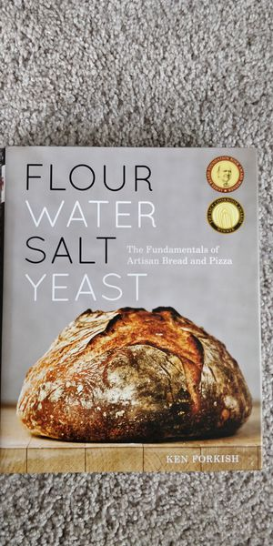 Flour water salt yeast - new for Sale in Palo Alto, CA