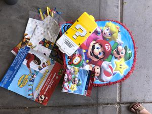 Super Mario party for Sale in Goodyear, AZ
