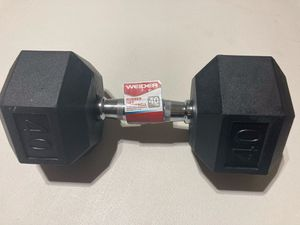 WEIDER 40 lb dumbbell for Sale in Miami, FL