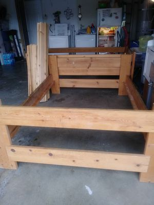 Full and twin bunk bed with storage for Sale in Banning, CA