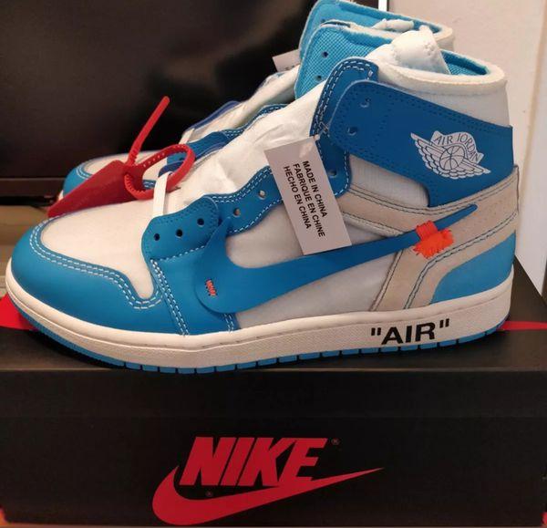 Air Jordan 1 Retro High OG UNC x Off White. Size 9 (Mens). Brand New. Never Worn.