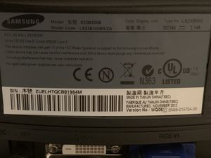 Samsung 24 inch monitor for Sale in Frisco, TX