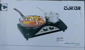 Cukor cast iron double plate 1800 Watts. **BRAND NEW** great for kitchen or outdoor use. Double plate. for Sale in Wildomar, CA