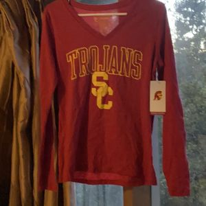 New USC Trojans T Shirt Long Sleeve for Sale in Pasadena, CA