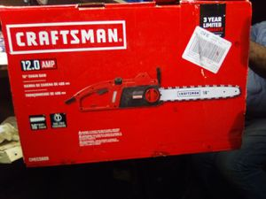 Craftsman electric chainsaw for Sale in Turlock, CA