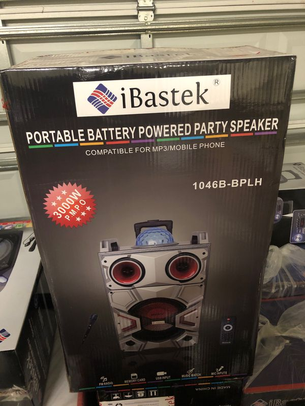 Brand new never used with Microphone and remote control included.