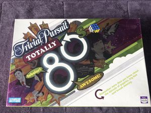 Board Game-Trivia Pursuit 80's edition for Sale in Coconut Creek, FL