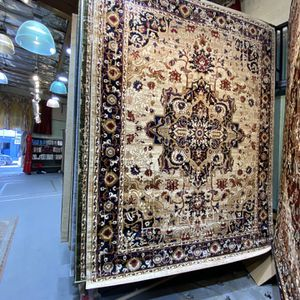 8x10 Area Rugs Carpet Rugs Persian Traditional Design Super Soft Silky Touch Thick Thigh Pile Colors Beige Gold Burgundy for Sale in Los Angeles, CA