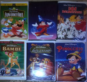 VHS Disney movies for Sale in Henderson, NV