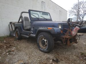 Jeep wrangler yj 90 for Sale in Zion, IL