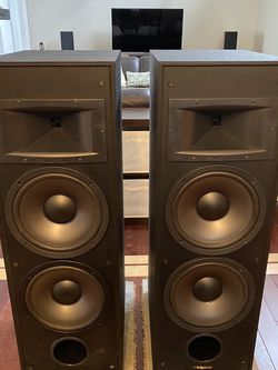 Klipsch KG 5.5 Speakers. for Sale in Big Rock,  IL