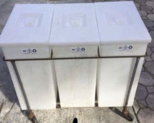 Polyethylene White, Bins and White #: P434 $80 all three + free roller (local pick up only in Miami. for Sale in South Miami, FL
