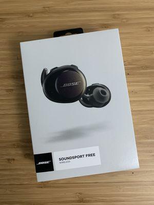 Bose soundsport free wireless earbud like new for Sale in Alhambra, CA