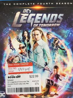 Legends Of Tomorrow Forth Season Blu-Ray Box Set for Sale in Brooklyn, NY