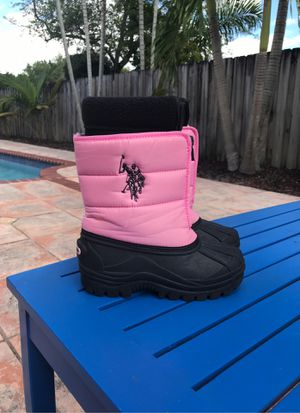 Girls Snow Boots - Size 13 for Sale in Miami, FL
