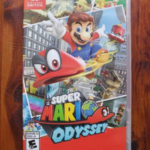 Nintendo Switch Games - Mario Odyssey, Final Fantasy X I X-2, XII for Sale in San Diego, CA